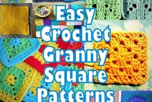 Crochet Motifs:  Granny Squares / by Joan Nicholes