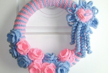 Crafts:  Wreaths (Crochet & Non-Crochet) / by Joan Nicholes