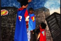 Lincoln's Superhero Party