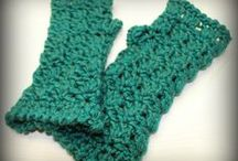 Crochet Accessories:  Handwarmers, Gloves & Mittens / by Joan Nicholes