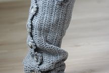 Crochet Accessories:  Leg Warmers / by Joan Nicholes