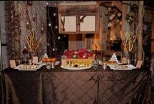 """Wedding Wars 2013 in Denver / Our """"Mountain Chic"""" theme landed us 1st place and a feature in the Fall 2013 issue of Rocky Mountain Bride Magazine."""