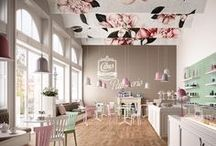 Spaces: Caffes and Restaurants