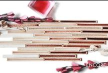 Hue: Marsala, color of the year! / Pantone's 2015 pick, translated to tile