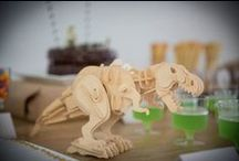 Parties styled by BabyDonkie / Dinosaur Fossil Dig - Train - Lego Movie