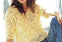 crochet wearables:  women's tops / by Joan Nicholes