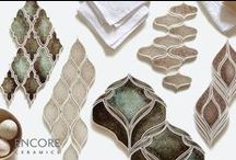 Encore Eye Candy / Our tile laid out in gorgeous still life tableaus for your inspiration!