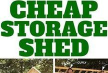 Garden Sheds and shelters