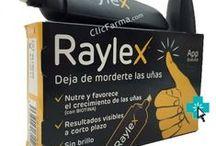 RAYLEX UÑAS SANAS / Raylex tiene el sabor amargo de la cáscara de pomelo. Raylex contiene una combinación única de extracto de pomelo y denatonio. El denatonio aparece en el Libro Guinness de los Récords como la sustancia más amarga del mundo, por lo que es ideal para ayudarte a dejar este hábito.