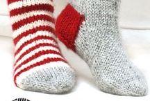 Strikke sokker / Strikke