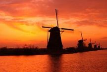 Netherlands / Tulips and Windmills
