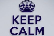 Keep Calm / Just keep calm