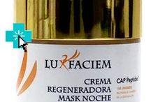 LUX FACIEM / Cremas de gama alta fabricadas por Advanced Medical Projects que dedica el 100% del beneficio por la venta al I+D para generar nuevos fármacos contra las enfermedades infantiles causadas por envejecimiento acelerado