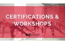 GX Certs & Workshops / Discover over 1,000 different primary & specialty certifications, workshops, and CEC courses for group exercise instructors in our Course Directory.  GXunited.com/course-landing