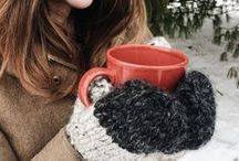 Knit // Crochet / Cozy and warm socks, mittens, gloves, afghan blankets, and sweaters for mountain winter weather.  Beautiful gifts for the bohemian gal!