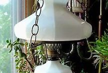 Light / Antique and Vintage light fixtures and lamps, with a special emphasis on vintage swag lamps, chandeliers, table lamps and other antique treasures.