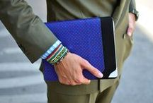 eMMe / At the last PITTI 83 I was fascinated about this new Italian brand called EMME specialised in hand-crafted wallets and accessories characterized by a sophisticated fusion of silk and leather.  Discover the luxury Accessories by EMME at WWW.FINAEST.COM
