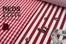 Ruby, Red, Wine & Claret Shirtings / Ruby, Red, Wine & Claret Shirtings