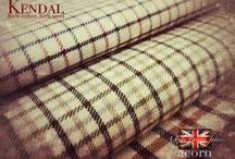 "60"" Kendal Wool & Cotton Shirtings / 80% Cotton 20% Wool Tattersall Shirtings"