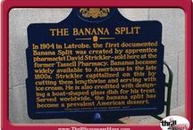 Banana Split Festival / Latrobe is home to some pretty iconic figures including Arnold Palmer (golf pro), Mr. Rogers, Rolling Rock (originally) & the home of the Banana Split, created in Strickler's Pharmacy.   Being a Latrobe born company, Thrill of the Hunt was there to support the community! #ThrillofHunt