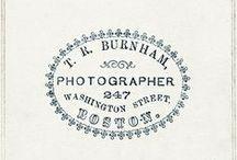 Photographer logos