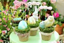 Easter Celebration / Great ideas for sharing this blessed time with family and friends.