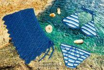 MODA VERANO / Novedades en moda para tejer a crochet en verano. #bikini #pamela #sombrero #bolso #falda #camisetas #ganchillo #playa  #summer #beach / by Muestras y Motivos