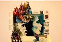Hybryd-A - Pati Dubiel / Twórczość Pati Dubiel ma swoje korzenie w amerykańskim pop-arcie. Inspiruje ją także sztuka mistrzów renesansu i baroku oraz francuski surrealizm. Artystka nie przetwarza jednak cudzych pomysłów, lecz buduje swój całkowicie odrębny świat. Jej prace ze szkła są absolutnie unikatowe.