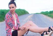 """Justine - Made In Blogueuse / Justine, du blog """"Les nœuds de Justine"""" a sélectionné les pièces qu'elle préfère dans notre nouvelle collection. Retrouvez les photos de son look made in Pimkie sur www.lesnoeudsdejustine.com et sur www.pimkie.com"""