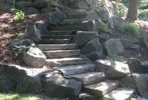 Walkways/Stair cases by Greenhaven Landscapes Inc.