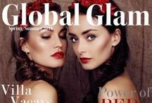GLOBAL GLAM MAGAZINE / COVERS / GLOBAL GLAM MAGAZINE