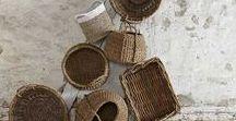 NASSES & VANNERIE / La vannerie dans vos maisons pour des intérieurs authentiques. Entre idées déco et produits réalisés par des artisans en vente sur luli-shop.com