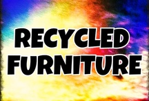 Recycled--FURNITURE ART / Recycled, Repurposed or Redesigned Furniture items. ***Please only Pin no more than 5 items at a time.