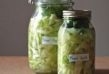Recipes: Ferments / Sauerkraut, pickles, Kombucha etc