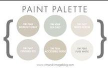 Paint Color Ideas / Beautiful Paint Color Ideas for your Home.