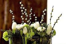 Arrangements / Bouquets, decorations and accessories of flowers, leaves and stems... anything plant related really.