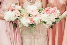 Peach, Blush and Gold