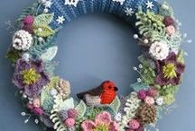 Crochet, knitting, felting  /all about wool/