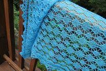 Laceweight shawl / knitting patterns