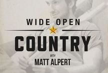 Wide Open Country Podcasts / We may be about more than just country music, but it's still our passion! Listen as our editor, Matt Alpert, chats with all sorts of musicians. If you love music, you'll love our podcasts.