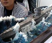 GERMAN U-BOAT MODELS AND DIORAMAS