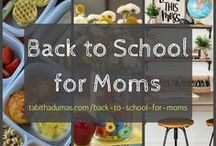 Moms:: back to school / Back to school diy, back to school supplies, home command center, homework station and more. Get mom ready to go back to school!