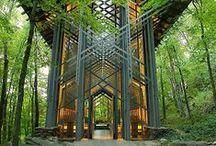 Architecture / Traditional, modern, futuristic
