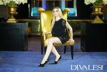 Outono/Inverno 2014 / Uma coleção cheia de glamour e sofisticação, repleta de tendências como as transparências, rendas e texturas. Site: www.divalesi.com.br e loja virtual: http://loja.divalesi.com.br
