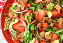 Summer Salads / Nutritious salads for the summer!
