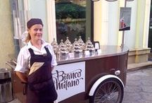 Bianco Milano ice cream cart / Our client: Bianco Milano Place: Romania Model: Procopio P6 Ice Cream (Gelato) Cart The only, the original, the unique italian (made in italy) #icecream #gelato #helados cart