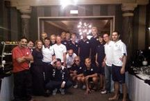 European Junior Championships in volleyball in 2014 / Volleyball teams in our hotel