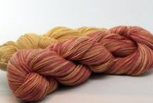 Yarn / Hand-dyed, handspun, and commercially produced yarn from Ravelry members with Etsy shops