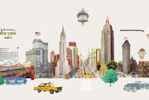 New York illustrations