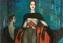 Art Deco illustrations